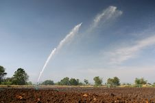 Free Irrigation Sprinkler Stock Image - 17436131