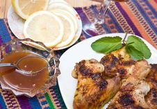 Free Fried Chicken Wings Stock Photography - 17436912