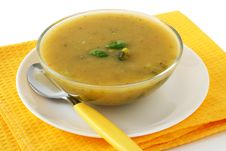 Free Vegetable Soup Royalty Free Stock Photos - 17438828