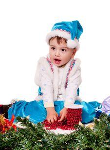 Free Santa Claus Boy Royalty Free Stock Images - 17439209