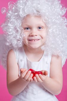 Free Little Angel Stock Image - 17439281