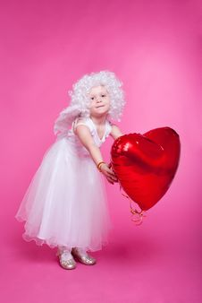Free Little Angel Royalty Free Stock Photography - 17439287