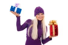 Free Blond Lady Stock Photography - 17439362