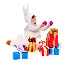 Free Rabbit Boy Royalty Free Stock Image - 17439376