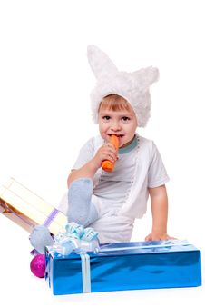 Free Rabbit Boy Royalty Free Stock Image - 17439396