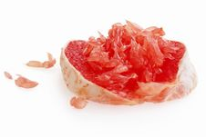 Free Cleared Red Grapefruit Royalty Free Stock Photography - 17439487