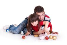 Free Father Playing With Daughter Royalty Free Stock Image - 17439606