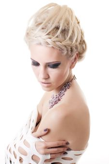 Free Blond Lady Royalty Free Stock Photo - 17439635