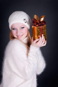 Free Happy Girl Royalty Free Stock Photo - 17439715