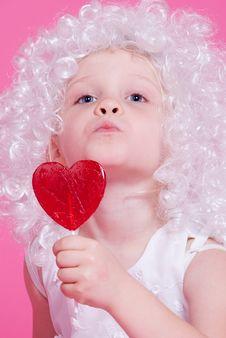 Free Cute  Angel Stock Image - 17439801