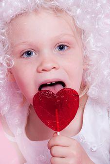 Free Cute  Angel Stock Photos - 17439803