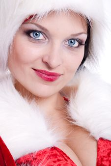 Free Santa Claus Girl Royalty Free Stock Images - 17439959