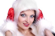 Free Santa Claus Girl Stock Images - 17439964