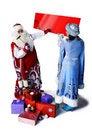 Free Big Bag Of Santa Claus Royalty Free Stock Images - 17440979