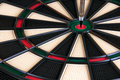 Free Vertical Arrow On Darts Board Royalty Free Stock Image - 17448736