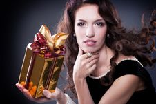 Young Brunette Royalty Free Stock Photo