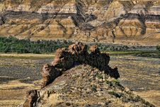 Free Badlands Formation Royalty Free Stock Photos - 17440018