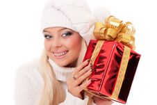 Free Blond Lady Stock Images - 17440344