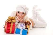 Free Blond Lady Stock Image - 17440361