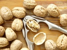Free Walnuts Royalty Free Stock Photos - 17440578