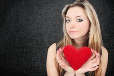 Free Heart In The Hands Royalty Free Stock Photography - 17440947