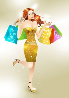 Free Vector  Girl Stock Images - 17441674