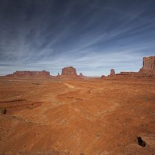 Free Monument Valley Royalty Free Stock Photos - 17441888