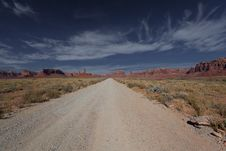 Free Dirt Road In Monument Valley Stock Photo - 17441970