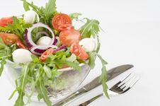 Free Fresh Green Vegetable Salad Stock Image - 17442431