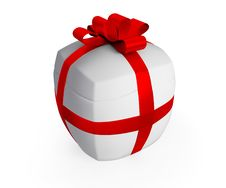 Free Inflated Gift Royalty Free Stock Photo - 17442745
