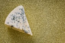 Free Blue Cheese On A Plate Stock Images - 17443064