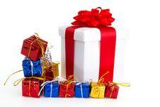 Free Gift Boxes Royalty Free Stock Photos - 17443418