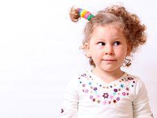 Free Little Girl Stock Image - 17443571
