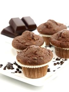 Free Fresh Baked Muffins Stock Images - 17444044