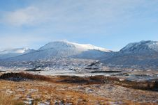 Free Winter At Rannoch Moor Royalty Free Stock Photos - 17444168