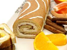 Fresh Baked Cake Stock Image
