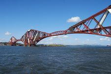 Free Blue Sky Over Forth Royalty Free Stock Image - 17444376