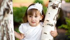 Free Little Girl Royalty Free Stock Photography - 17444417