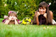 Free Mother And Little Girl Royalty Free Stock Images - 17444689