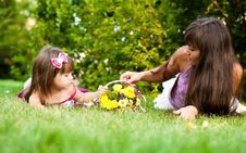 Free Mother And Little Girl Stock Images - 17444774