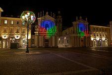 Free Piazza San Carlo In Turin Stock Images - 17446384
