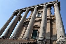 Free The Ancient Forum, Rome Italy Royalty Free Stock Image - 17446496