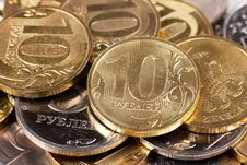 Free Coins Royalty Free Stock Images - 17446769