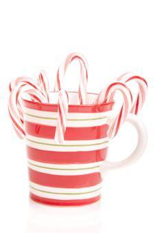 Free Christmas Mug Royalty Free Stock Photos - 17447158