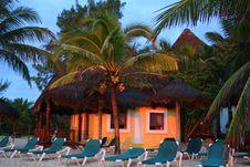 Free Mahekal Resort In Playa Del Carmen - Mexico Royalty Free Stock Photo - 17448005