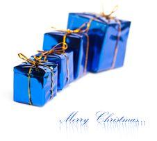 Free Festive Gift Boxes Royalty Free Stock Photos - 17448518