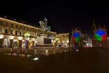 Free Piazza San Carlo In Turin Stock Photo - 17448550