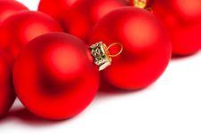 Free Christmas Decoration Isolated Stock Images - 17448564