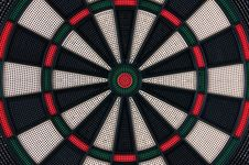 Free Darts Board Royalty Free Stock Image - 17448566