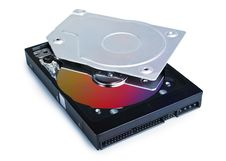 Free Hard Drive Opened Stock Photo - 17448570